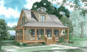 country vacation homes house plans home design 153 1651 theplancollection hunters den Vacation Cabin Plans