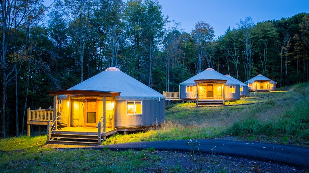dc area camping spots for glampers nature lovers and Assateague Island Cabins