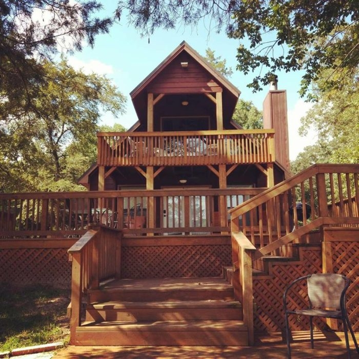 deer lake log cabins in texas just might be your new Lake Cabins In Texas