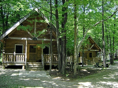 door county campground tranquil timbers camping retreat Wisconsin Campgrounds With Cabins