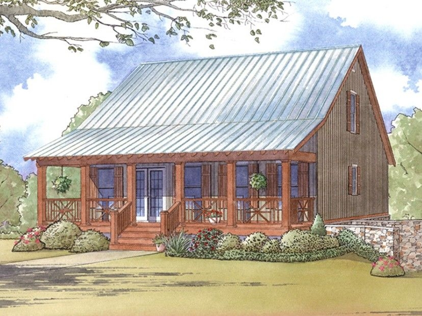 e plans low country house plan cabin style plan with full Country Cabin Plans