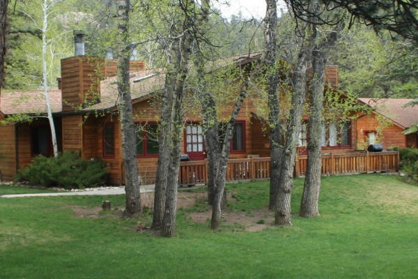 estes park colorado cabin rentals getaways all cabins Estes Park Cabins With Hot Tubs