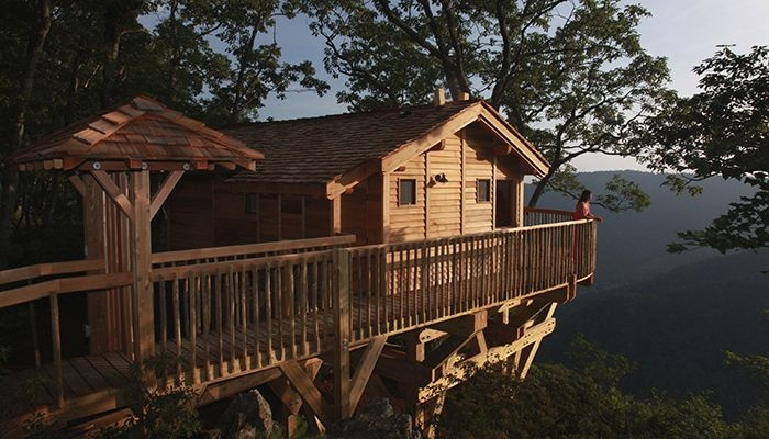 five virginia glamping destinations golden eagle treehouse Cabin Camping In Virginia