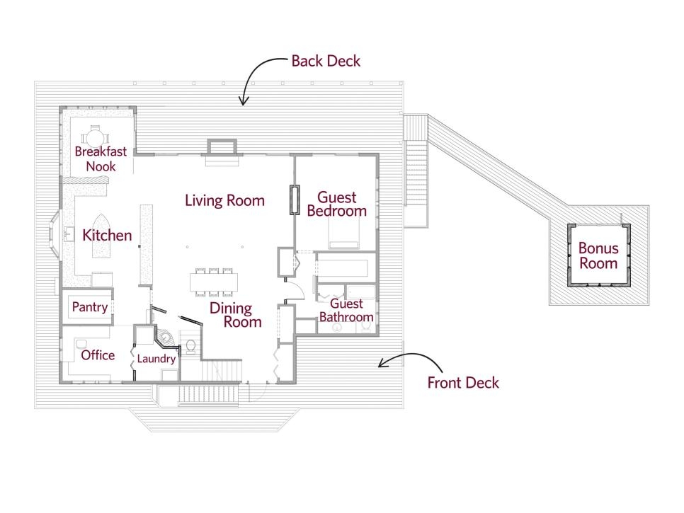 floor plans from diy network blog cabin 2016 behind the Simple Cabin Floor Plans