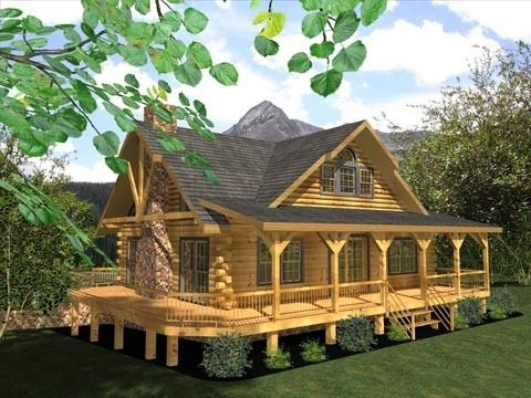 floor plans house plans in 2019 log home floor plans Log Cabin Plans With Wrap Around Porch