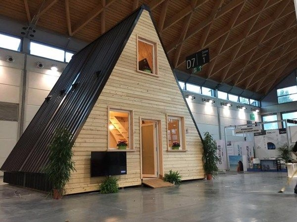 foldable prefab a frame cabin madi in italy houses a Prefab A Frame Cabins