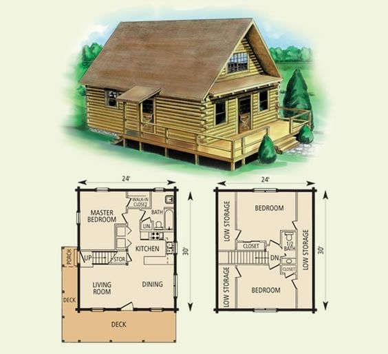 free small cabin plans Floor Plans For Small Cabins