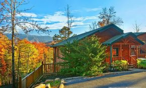 gatlinburg cabin pointe of view 2 bedroom sleeps 8 Pet Friendly Smoky Mountain Cabins