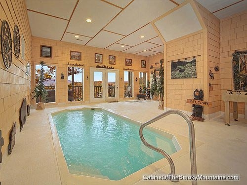 gatlinburg cabins with indoor private pools Cabins With Pools