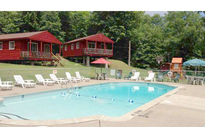 gold eagle housekeeping cottages resort lodging in lake Lake George Ny Cabins