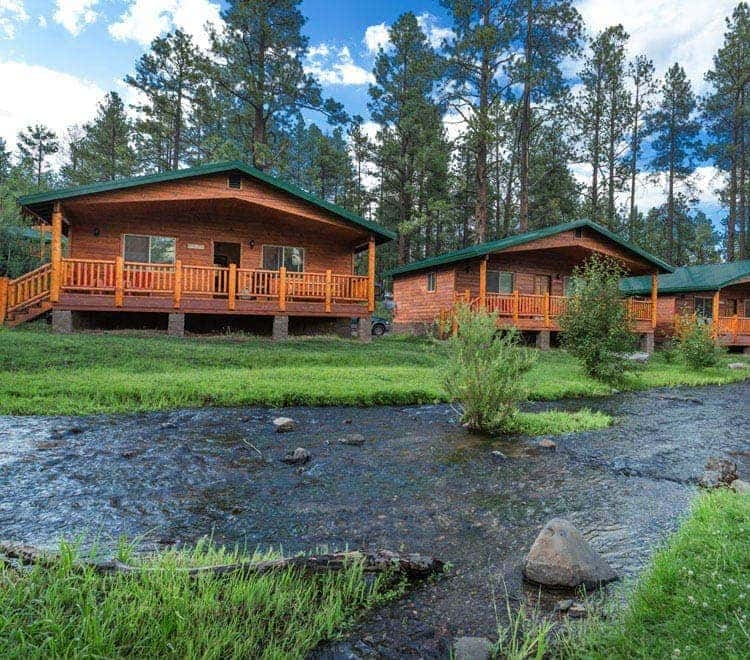 greer az cabins rentals on the river ponds greer lodge Cabins In White Mountains Az
