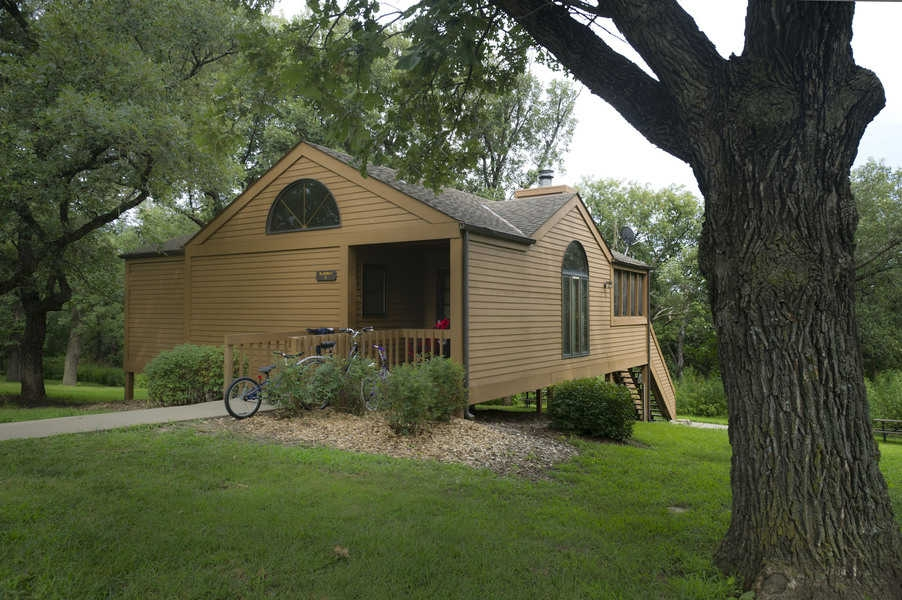 guide to nebraska state parks cabins oh my omaha Mahoney State Park Cabin