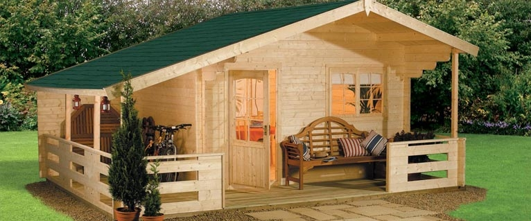 hgc log cabin kits Small Cabin Kit