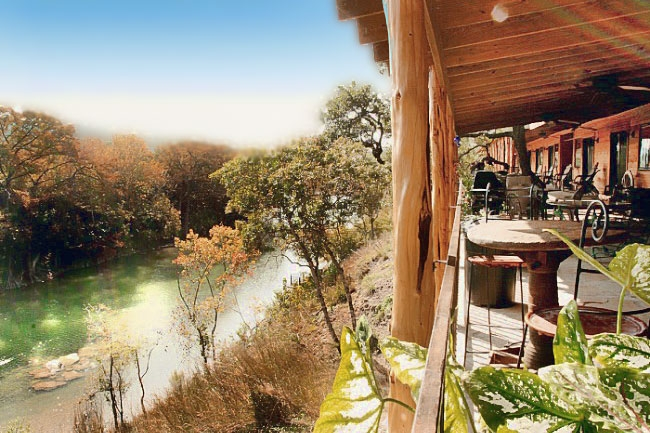 hideout on the horseshoe luxury cabins on the guadalupe river Cabins Guadalupe River