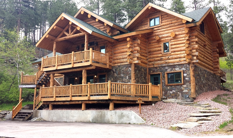 hillside country cabins enjoy the comfort of the black Keystone Sd Cabins