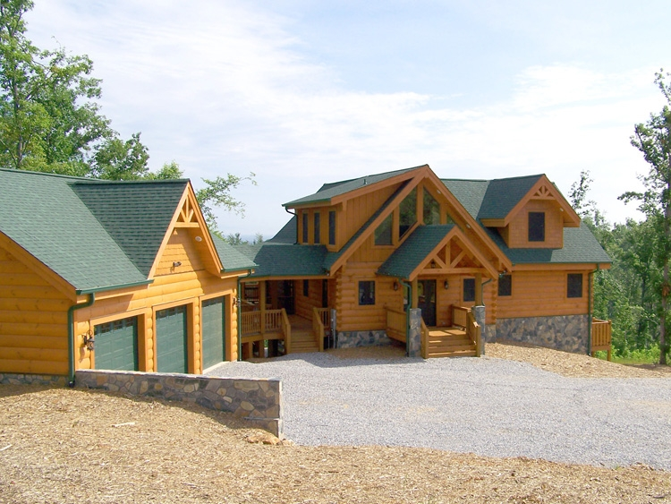 homes Unfinished Log Cabins For Sale In Nc