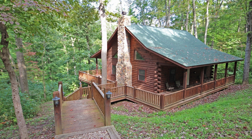 hunters retreat woodland ridge cabins lodges hocking Cabin In Hocking Hills