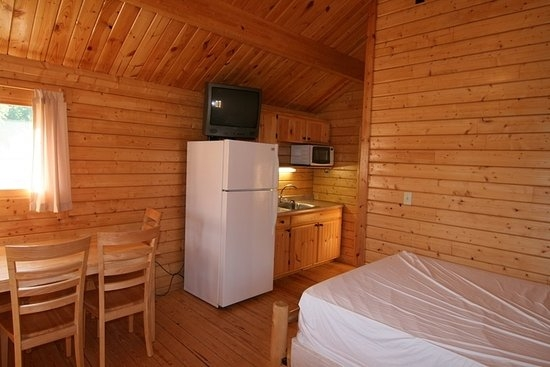 ib crow cabins 1112 inside kitchenette picture of indiana Indiana Beach Cabins