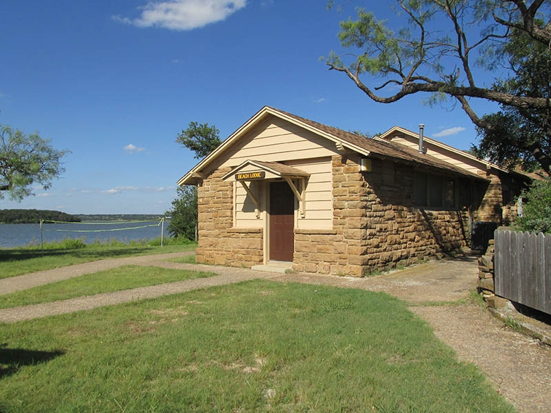 lake brownwood state park beach lodge texas parks Brownwood Lake Cabins