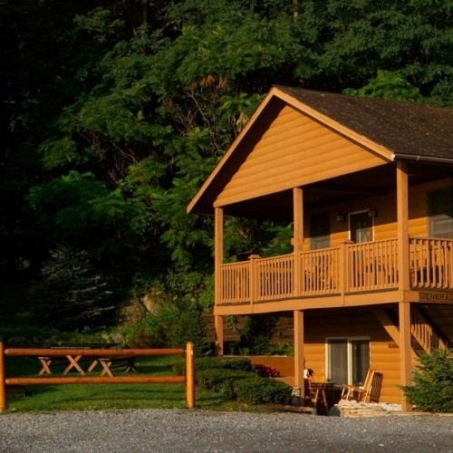 lake george log cabins cottages accommodations Cabin In Lake George