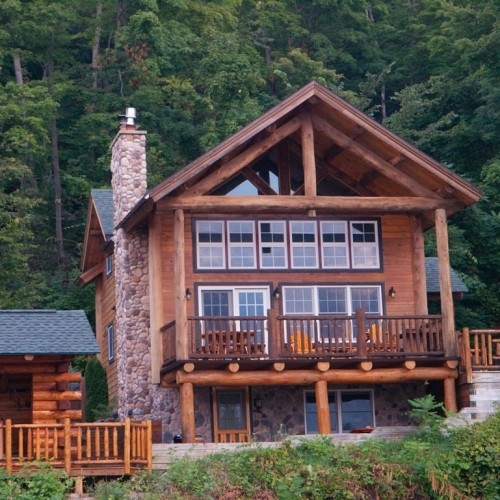 lake george log cabins cottages accommodations Cabins In Lake George Ny