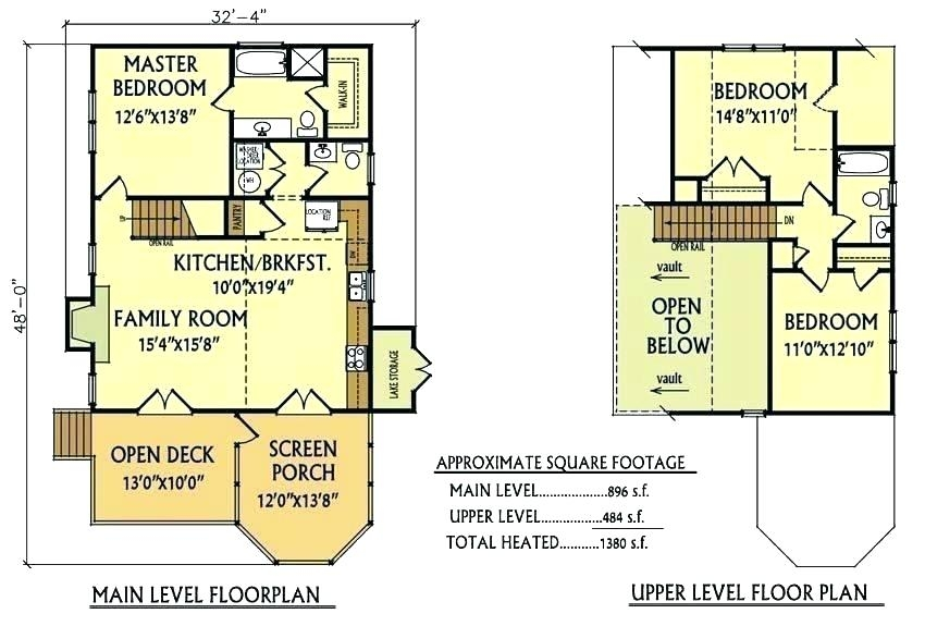 lake house floor plans wellesley on stilts small cottage 3 Small 3 Bedroom Cabin