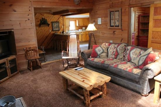 little bear living room picture of story book cabins Storybook Cabins Ruidoso Nm