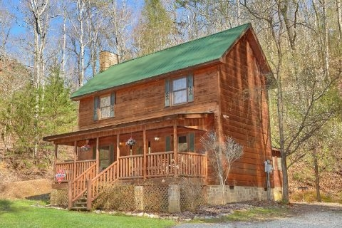 little bit of fun 2 bedroom cabin pigeon forge cabins usa Grandview Cabins Cherokee Nc