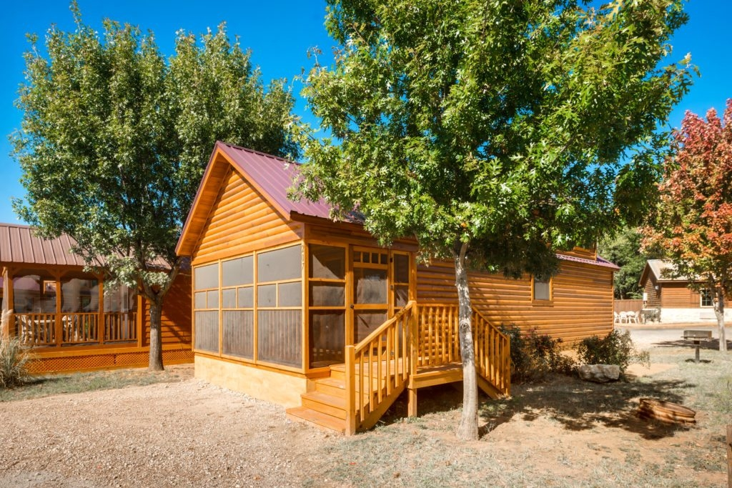 lodging overview north texas jellystone park Cabins In North Texas