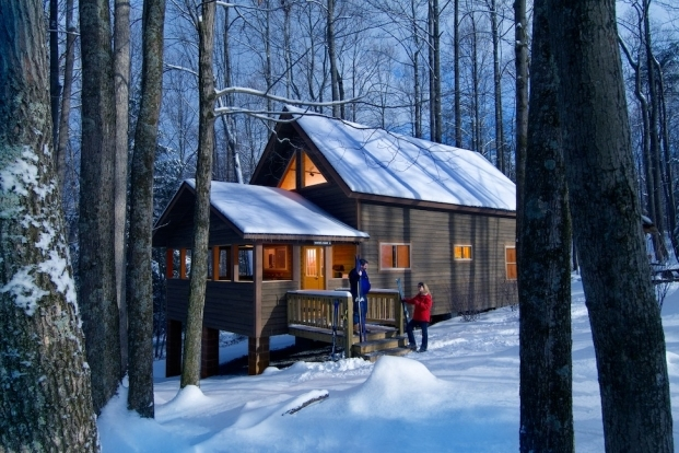 lodging rivermen New River Gorge Cabins