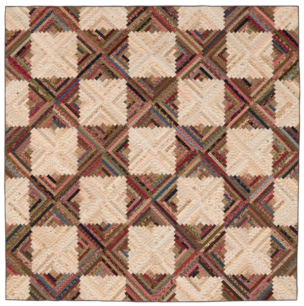 log cabin block love 16 giveaways stitch this the Examples Of Log Cabin Quilts