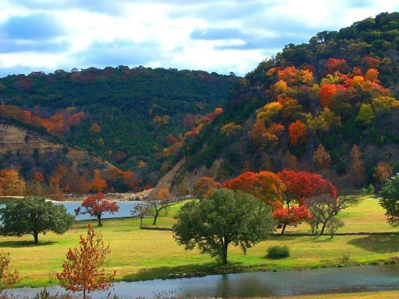 looking for a texas staycation this fall Lost Maples State Park Cabins