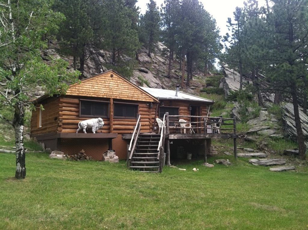lost bison cabin a great place to stay South Dakota Cabins
