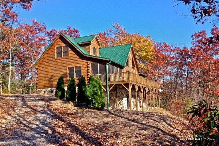 luxury log cabin rental with home theater room near blowing rock north carolina Blowing Rock Nc Cabins