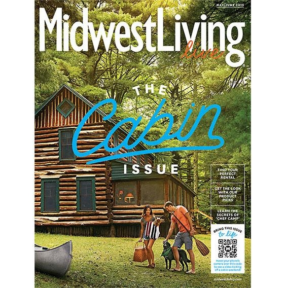 midwest living launches live cabin living issue 04192019 Cabin Living Magazine