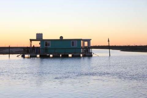minimalist floating cabins off the gulf of mexico are a Floating Cabins Texas