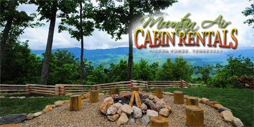 mountain air cabin rentals in pigeon forge tn smoky mountains Mountain Air Cabins