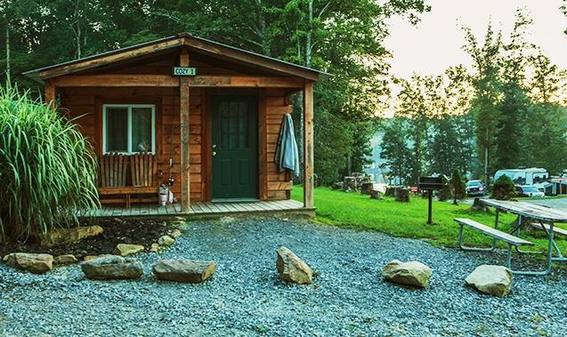 mountain lake camping cabins family camping in Mountain Lake Campground And Cabins