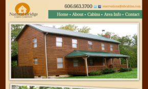 natural bridge cabins vacation rental software blog Natural Bridge Cabin Company