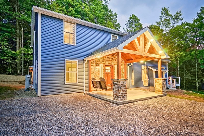 new benezette cabin whot tub grill mtn views updated Benezette Pa Cabins