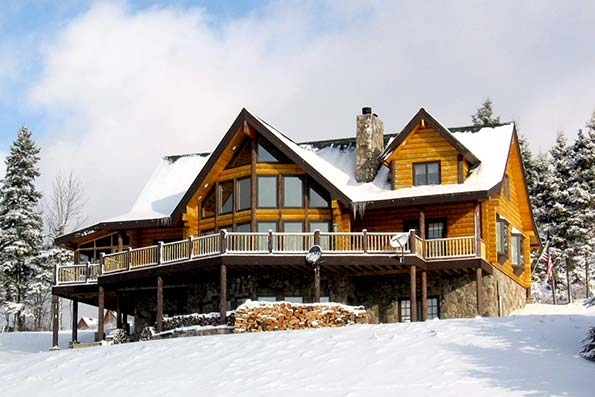new hampshire log cabins and timber frame homes Cabins New Hampshire