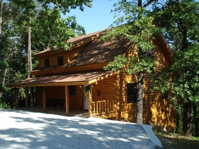 new log cabin rental secluded forest views table rock lake Secluded Cabins In Missouri