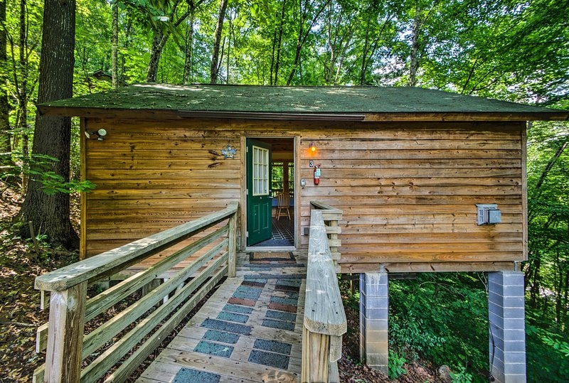 new secluded gone hunting cabin w hot tub updated 2020 Secluded Cabins In Nc