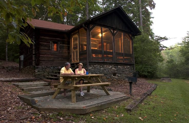 oconee state park has 19 cozy cabins available for rent Oconee State Park Cabins