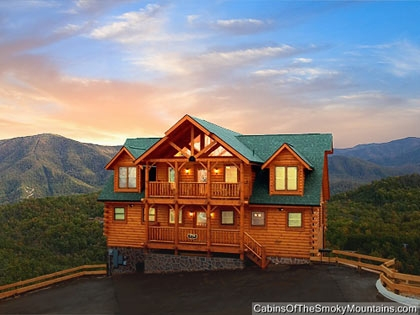 one bedroom cabins in gatlinburg pigeon forge tn Mountain Cabins In Tennessee