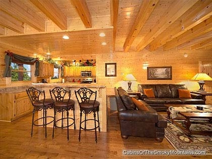 one bedroom cabins in gatlinburg pigeon forge tn One Bedroom Cabins