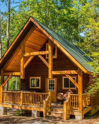 one bedroom outback cabins adventures on the gorge New River Gorge Cabins