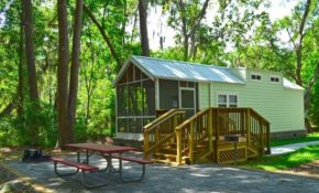 one of our brand new camper cabins picture of skidaway Savannah Ga Cabins