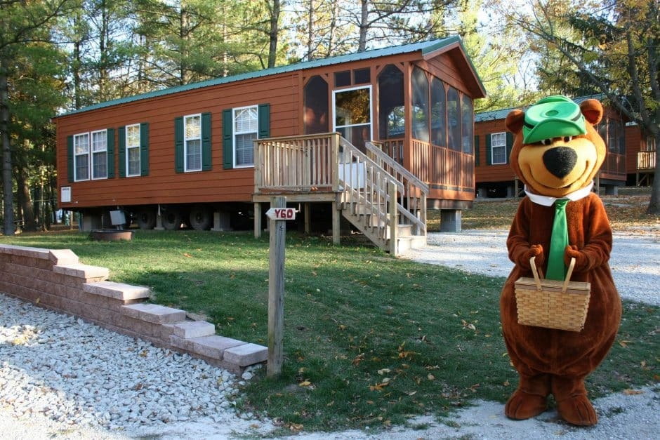 our cabins in wisconsin are 1st rate campjellystone Cabin Camping In Wisconsin