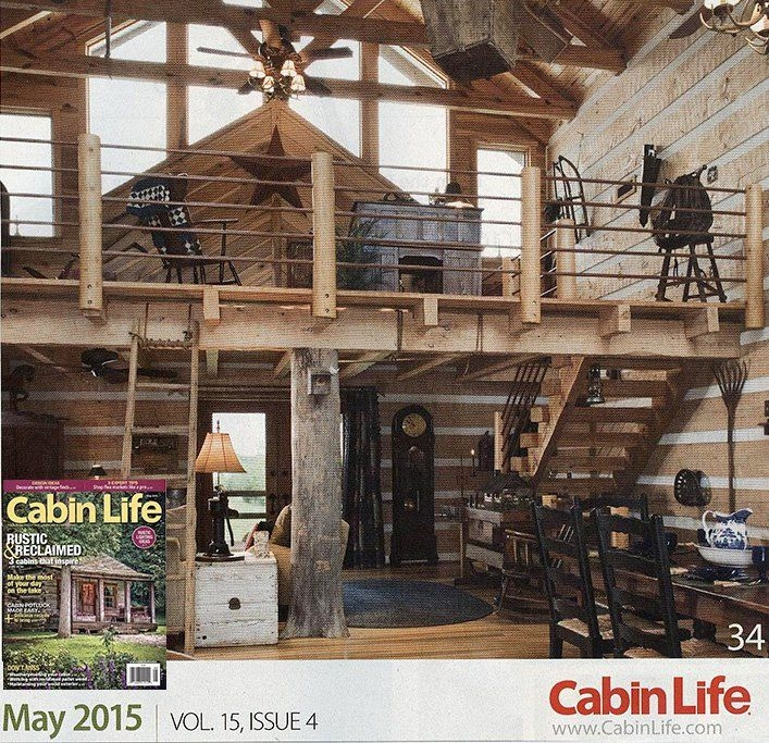 our dealer in kentucky has their model home picture in cabin Cabin Life Magazine